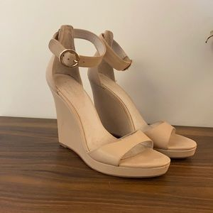 Witchery Blush/Nude Wedges 40